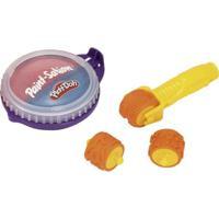 Conjunto De Artes - Play-Doh - Rolinho Com Estampas Diversas - 1 Pote De Tinta Sortido - Fun