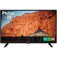 """Tv Philco Led 22"""" Ptv22G50D Bivolt"""