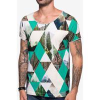 Camiseta Geometric Forest 103705