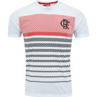 Camiseta Do Flamengo Graphic 19 - Masculina - Branco
