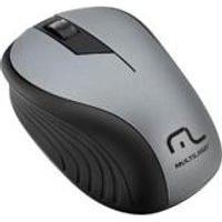 Mouse Sem Fio 2.4Ghz Preto Grafite Usb 1200Dpi Plug And Play Mo213