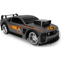 Carrinho De Fricção - Monster Machine - Esportivo Cinza - Toyng