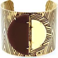 Bracelete Turpin Bali Marfim E Marron