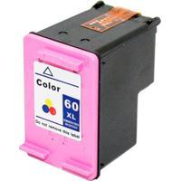 Cartucho Compativel Microjet Hp 60Xl Color