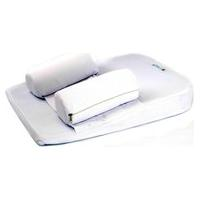 Travesseiro Antirefluxo Com Rolinho Baby Holder Branco.