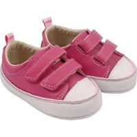 Tênis Infantil Couro Catz Calçados Noody Velcro - Unissex-Pink