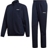 Agasalhos Fitness E Funcional Adidas 24 7 Woven Cuffed Azul