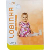 Meia Calça Fina Para Bebe Fio 20 Lupo Baby 2571-001