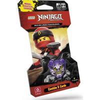 Cartas Colecionáveis - Lego Ninjago - Masters Of Spinjitzu - Ninja Vermelho - Copag