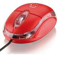 Mouse Óptico Multilaser Classic 800 Dpi Usb Mo003 - Unissex