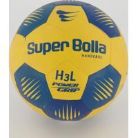 Bola Handebol Super Bolla Pro H3L Amarela E Azul