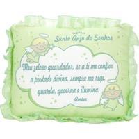 Travesseiro Para Bebê Cia. Do Nenem Verde