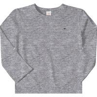 Camiseta Marisol Bebê Masculina - Masculino-Cinza