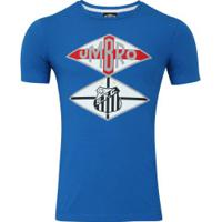 Camiseta Do Santos Nations The Kingdom Umbro - Masculina - Azul