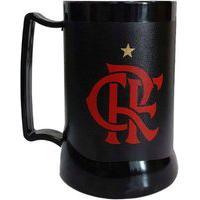 Caneca Gel Flamengo Especial Preta
