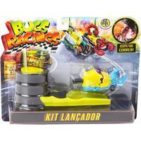 Veículo E Pista De Percurso - Bugs Racing - Lançador - Dtc