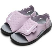 Sandália Nike Menina Sunray Adjust 7 Lilás