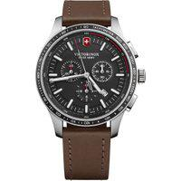Relógio Victorinox Swiss Army Masculino Couro Marrom - 241826
