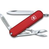 Canivete Com Logo Com 7 Funã§Ãµes- Inox & Vermelho- 7,Victorinox