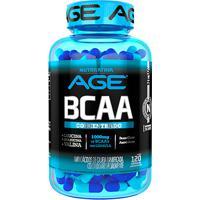 Aminoacid Bcaa Age 1G 120 Cáps - Nutrilatina - Unissex