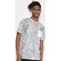 Camiseta Wg Especial Banana Plant Masculina - Masculino-Off White
