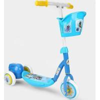 Patinete Infantil 3 Rodas Bel Fix Bubble - Unissex