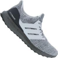 Tênis Adidas Ultraboost - Masculino - Branco/Cinza