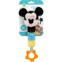 Buzina & Mordedor Para Bebe Mickey (3M+) - Buba Buba6737 Buzina Com Mordedor Mickey