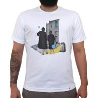Twice The Fun - Camiseta Clássica Masculina-Branca-G