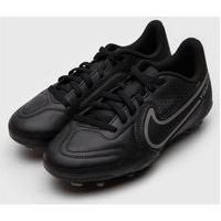 Chuteira Nike Infantil Jr. Tiempo Legend 9 Club F Preta