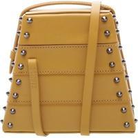 New Bucket Bag Lola Box Studs Yellow | Schutz