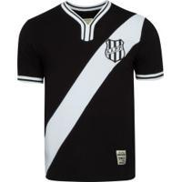 Camiseta Da Ponte Preta 1979 Retrômania - Masculina - Preto/Branco