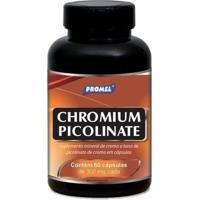 Chromium Picolinate - 60 Cápsulas - Promel