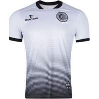 Camisa Do Asa De Arapiraca Ii 2019 Nº 10 Super Bolla - Masculina - Branco/Preto