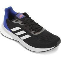 Tênis Adidas Astrarun Masculino - Masculino-Preto+Branco
