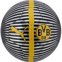 Bola De Futebol De Campo Borussia Dortmund One Chrome 18 19 Puma - Preto  4920ff90a4
