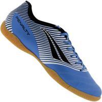 Chuteira Futsal Penalty Domínio Ix Ic - Adulto - Azul/Preto
