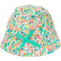 Bonpoint Chapéu Liberty Com Estampa Floral - Green