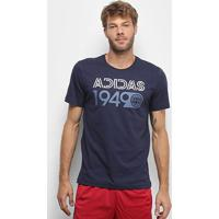 Camiseta Adidas Lineage Masculina - Masculino-Marinho