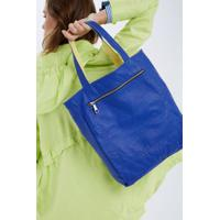 Shopping Bag Double Azul/ Amarelo Lemon
