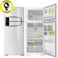 Refrigerador   Geladeira Consul Bem Estar Frost Free 2 Portas 405 Litros Com Horta Em Casa Branco - Crm52Ab