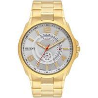 Relógio Orient Sport Analógico Mgss2014S2Kx Masculino - Masculino-Dourado
