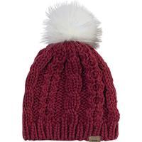 Gorro Com Pompom- Vermelho Escuro & Branco- Heringhering