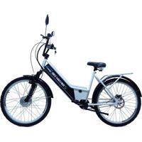 Bicicleta Elétrica Machine Motors 350W 36V Branco/Preto