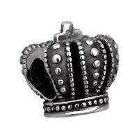Separador Coroa De Prata Moments - Unissex-Prata