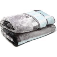 Cobertor Casal Corttex Home Design 180X220Cm Cinza
