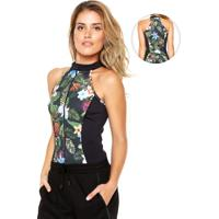 Body Mormaii Small Preto/Verde