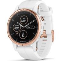 Smartwatch Gps Multiesportivo Premium Garmin C/ Monitoramento Cardíaco Pulso Fênix 5 Plus Com Te - Unissex