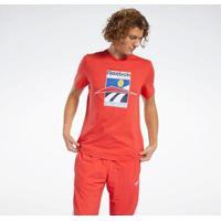 Camiseta E Regata Reebok Cl Intl Sport Tee Masculina - Masculino