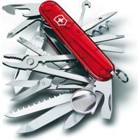 Canivete Swisschamp Com 33 Funã§Ãµes- Inox & Vermelho-Victorinox